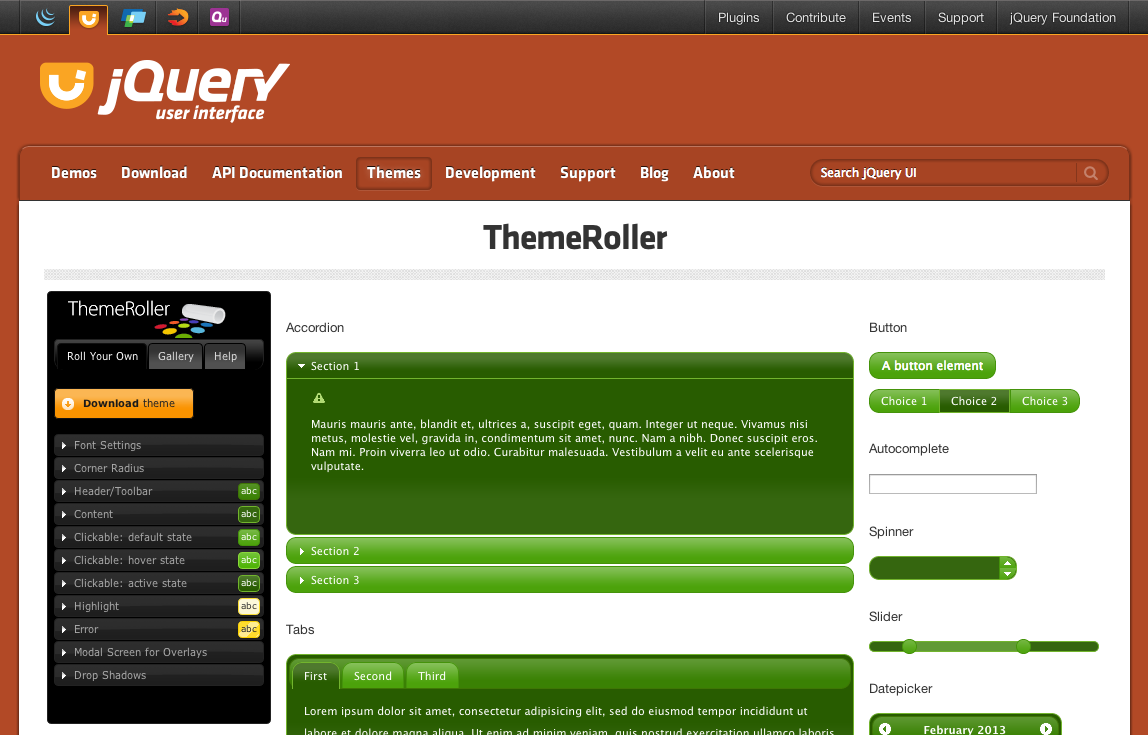 Netadvantage for jquery download example